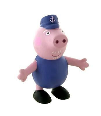 Peppa Pig figurine Grandfather 7 cm Comansi figure grand-père 90151