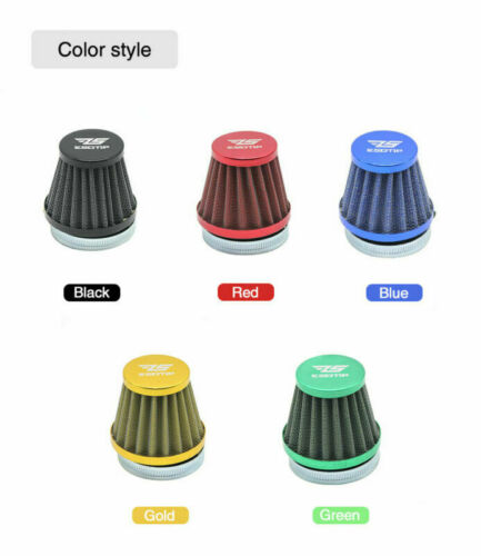 Gold Motorcycle Air Filter Cup Replacement for 28-34mm Carburetor