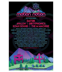 Motion Notion Tickets x2 $240