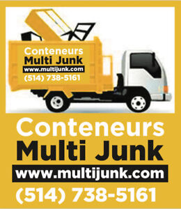 Containers Rental, Junk Removal