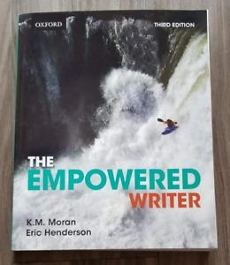 The Empowered Writer Textbook - $50