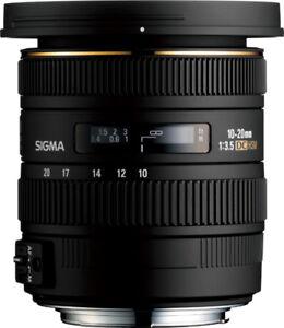Sigma Lens 10-20mm f/4 Canon EF