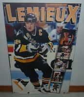 Early 90's Large Mario Lemieux Picture