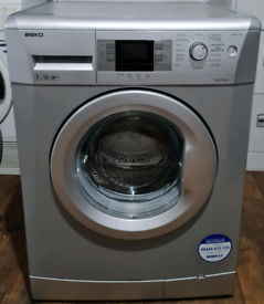 Silver Beko Digital Washing Machine - Free local delivery and fitting