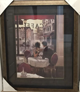 After Hours framed wall art