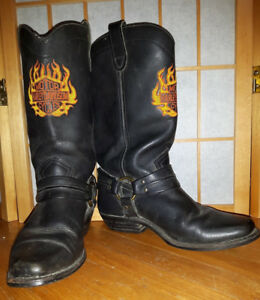 Women's Size 6 Harley-Davidson Leather Riding Boots