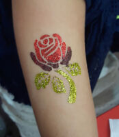 Professional Glitter Tattoo Artist for Parties/Events!
