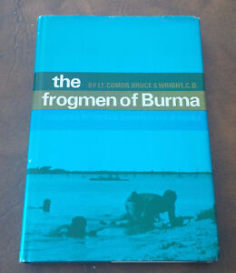 The frogmen of Burma, Lt. Comdr. Bruce S. Wright, 1968 Kitchener / Waterloo Kitchener Area image 1