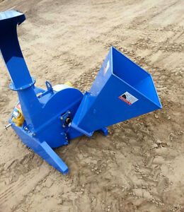 Tractor Wood chipper NEW