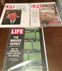 John F. Kennedy magazine collection