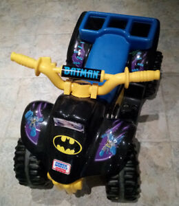 The Fisher-Price Power Wheels BATMAN Lil' Quad --- $ 50 OBO !!