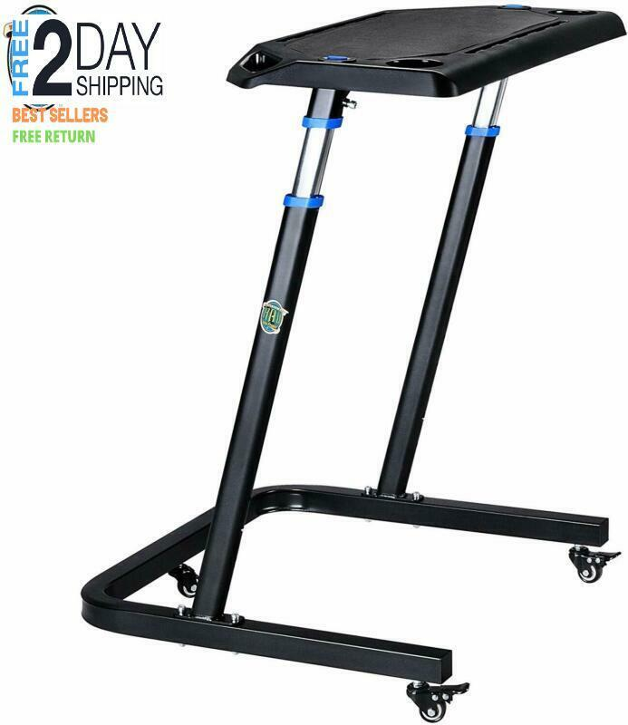 RAD Cycle products Adjustable Bike Trainer Fitness Desk Port