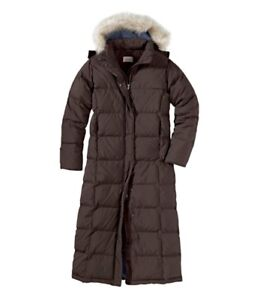 LL Bean Coat Goose Down Winter Warm as Canada Goose