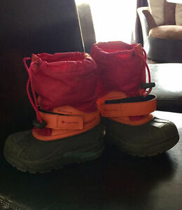 Girls Winter Columbia Boots- size 9