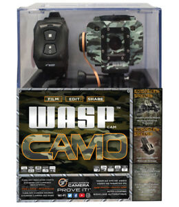 WASPcam Camo Edition 9906 Action-Sports Camera, Camo package