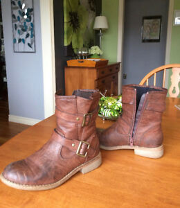 Tan boots by rieker. $25.00