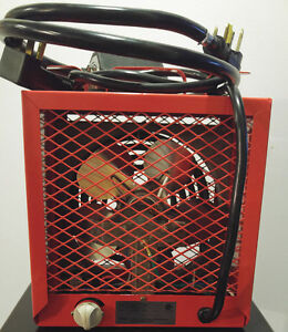 Construction heater 4500w