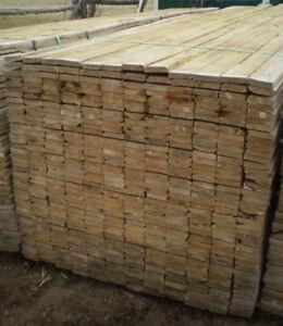 Pressure Treated Wood Column