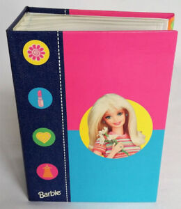 Barbie Photo Album Holds 60 Photos 4in x 6in Vintage 1998