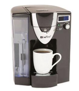 Icoffee (works like a Keurig) single cup coffee maker