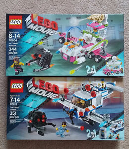 LEGO Movie Sets 70804 and 70811, $55 each - NEW