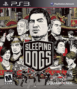SLEEPING DOGS PS3 Playstation 3