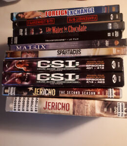 Cheap Movies & TV on DVD (Spartacus, Jericho, Transformers...)
