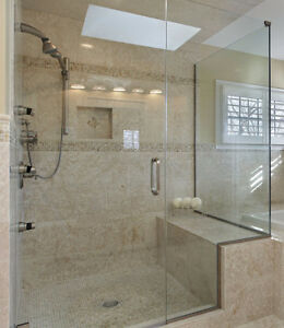 Luxurious Glass Shower Door with Hinges and Handles - New! London Ontario image 5