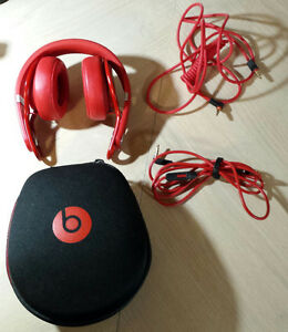 BEATS BY DRE Mixr On-Ear Headphone - David Guetta (Red)