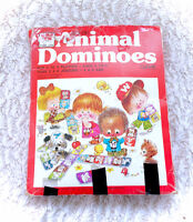 1976 Animal Dominoes With Box