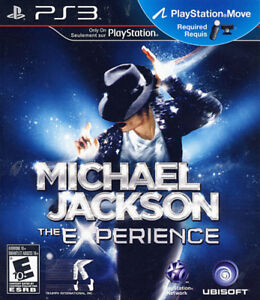 """PS3 game """"Michael Jackson - The Experience"""" (New, sealed)"""
