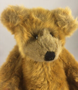 "Vintage 1994 TY 15"" Jointed Brown Teddy Bear Plush Sally Winey"