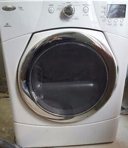 Whirlpool front loader gas Dryer/ Whirlpool avant Sèche chargeur