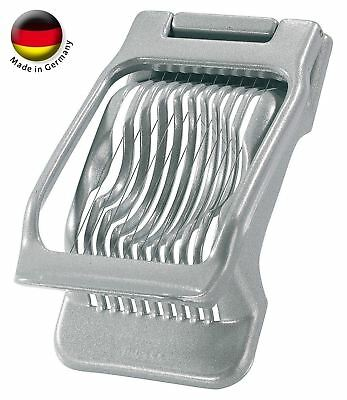 New Westmark Germany Multipurpose Stainless Steel Wire Egg Mushroom Slicer Grey