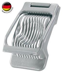 New Westmark Germany Multipurpose Stainless Steel Wire Egg Mushroom Slicer Grey