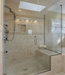 Luxurious Glass Shower Door with Hinges and Handles - New! Regina Regina Area image 2