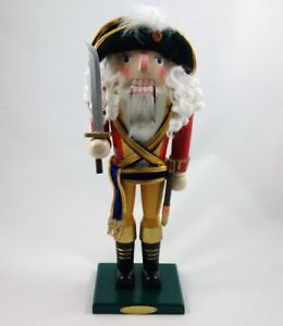 """Bombay Company Captain Hastings 15"""" Nutcracker Figure"""