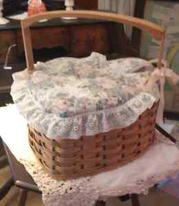 Wovan Basket With Tapestry Lid