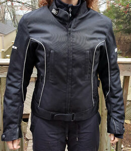 Onix women's motorcycle jacket - vest sold separately