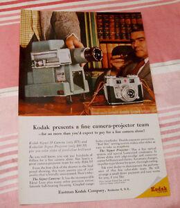 Publicité magazine #6 Kodak 1956