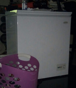 Scrap old dryer and freezer