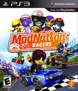 SONY PS3 MODNATION RACERS