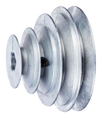 Chicago Die Cast 2 2 12 3 12 4 In. Dia. Zinc V Groove 4-step Pulley
