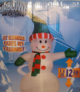 Snowman - inflatable