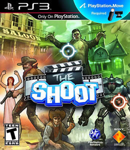new zombie The Shoot (PlayStation Move) PS3 New Playstation 3