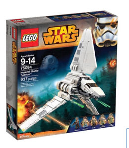 $135 for NEW hard to find Lego 75094 Imperial Shuttle Tydirium