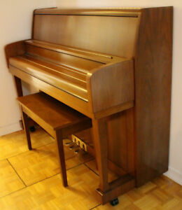 Kawai Upright Piano, Made in Japan.