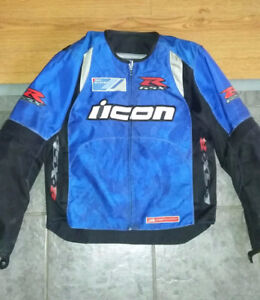 2 Icon Overlord Motorcycle jackets