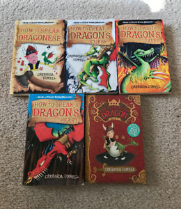 How To Train Your Dragon - book collection