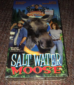 "Rare Timothy Dalton VHS Movie ~ ""Salt Water Moose"" New & Sealed"